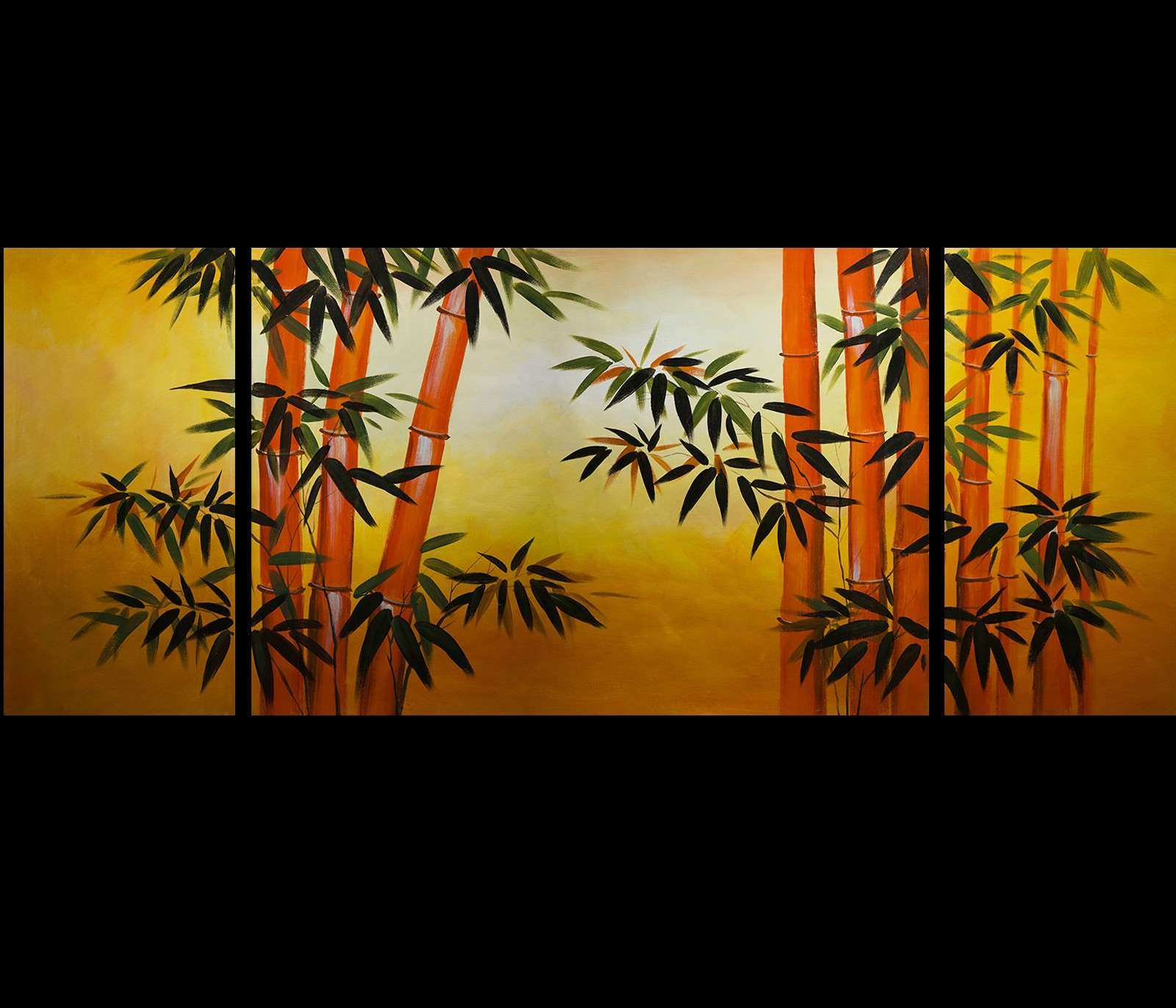 japanese bamboo wall art Gallery