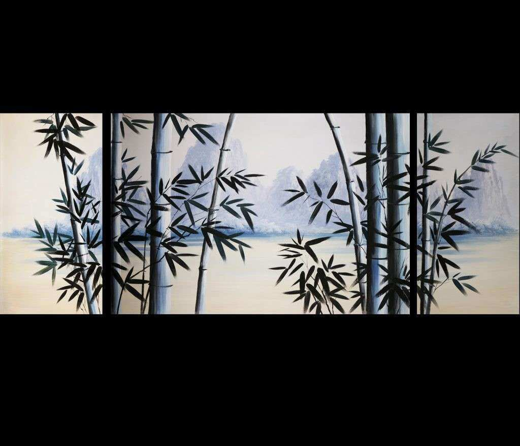 Wall Art Designs Asian Wall Art Feng Shui Bamboo Painting