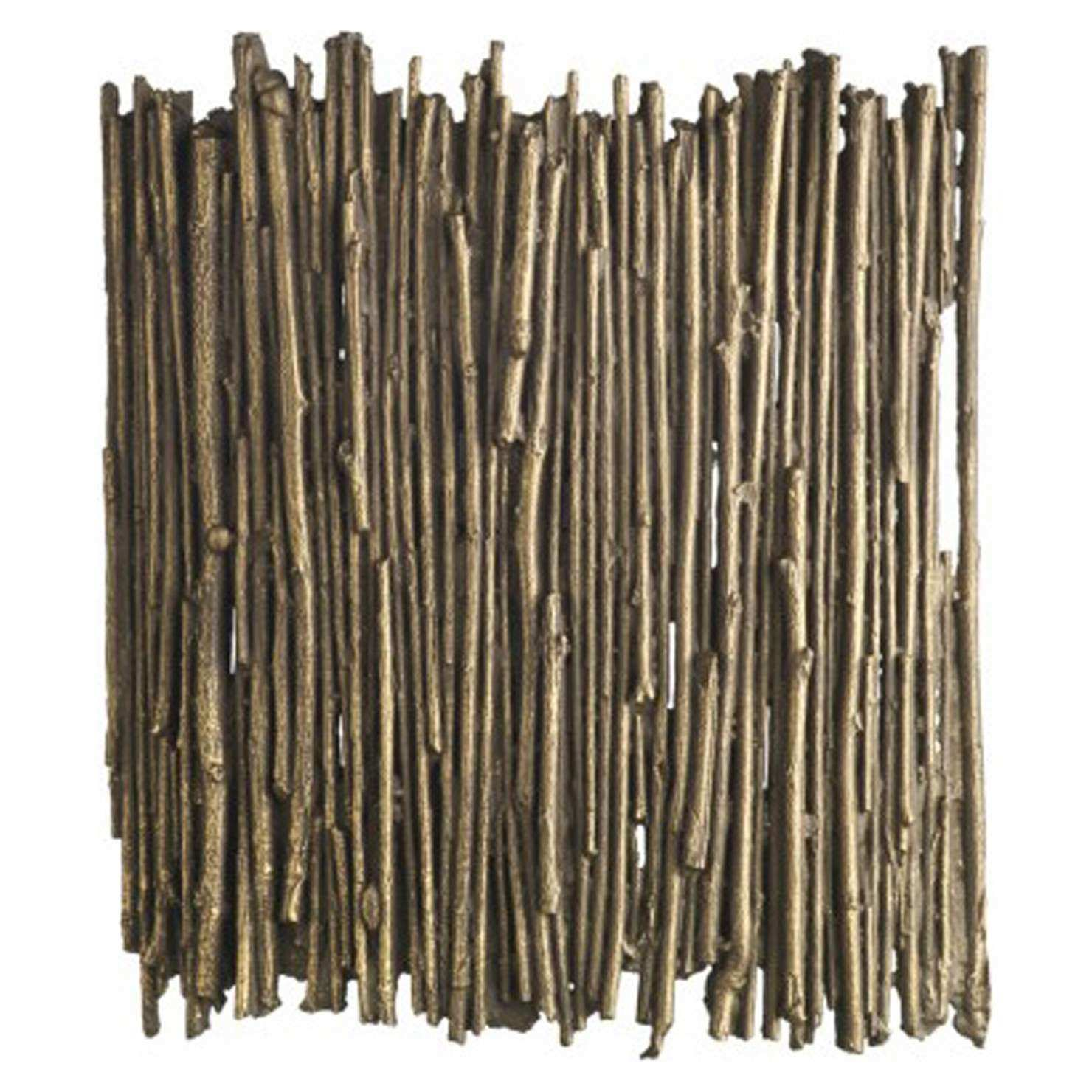 Bamboo Wall Art Gold