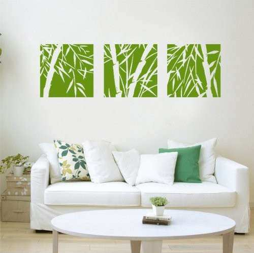 Best Bamboo Wall Stickers Exotic And Inexpensive Wall