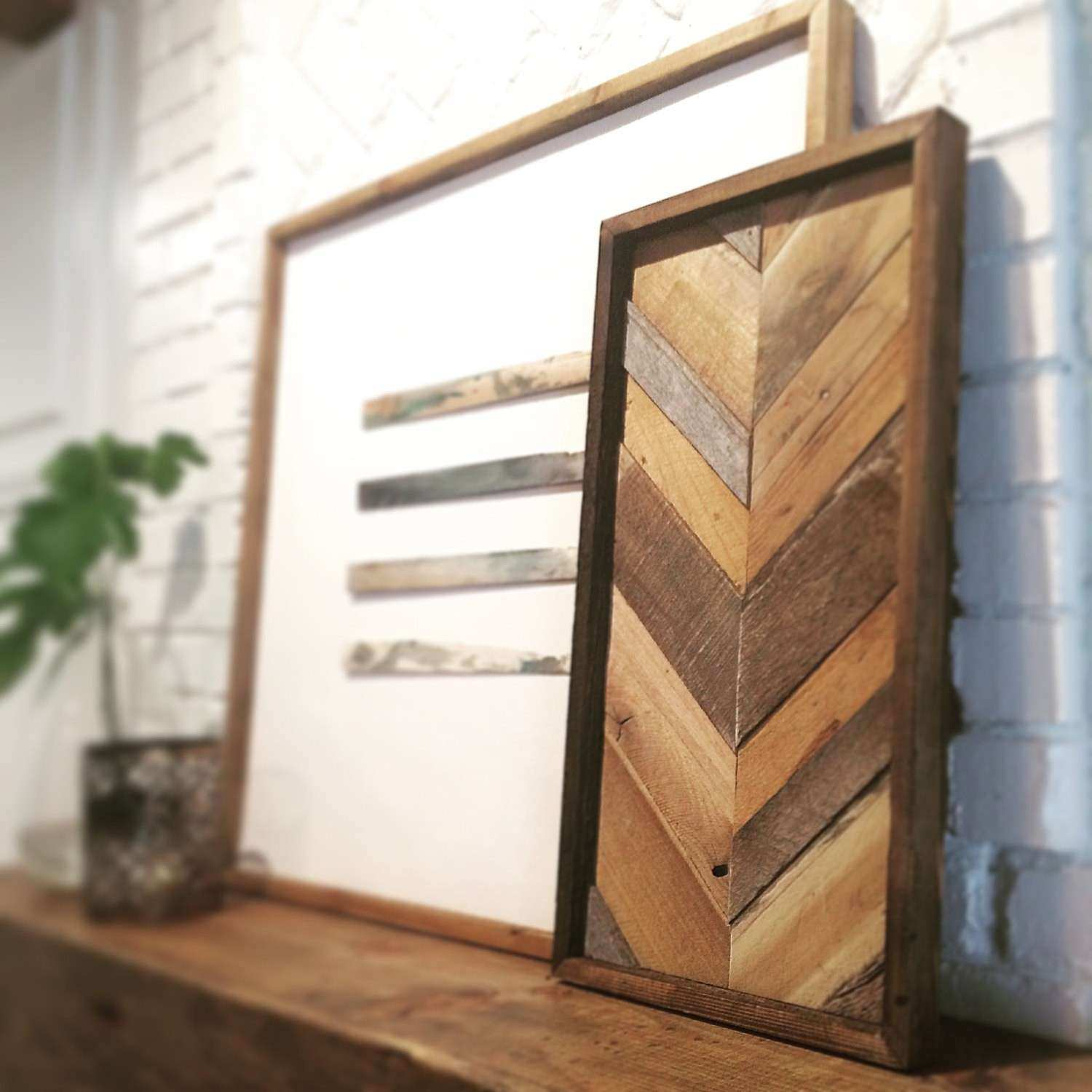 Stylish Design Reclaimed Wood Wall Decor Home Designing