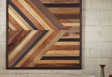 Barn Wood Wall Decor Awesome Geometric Pieced Wood Wall Art