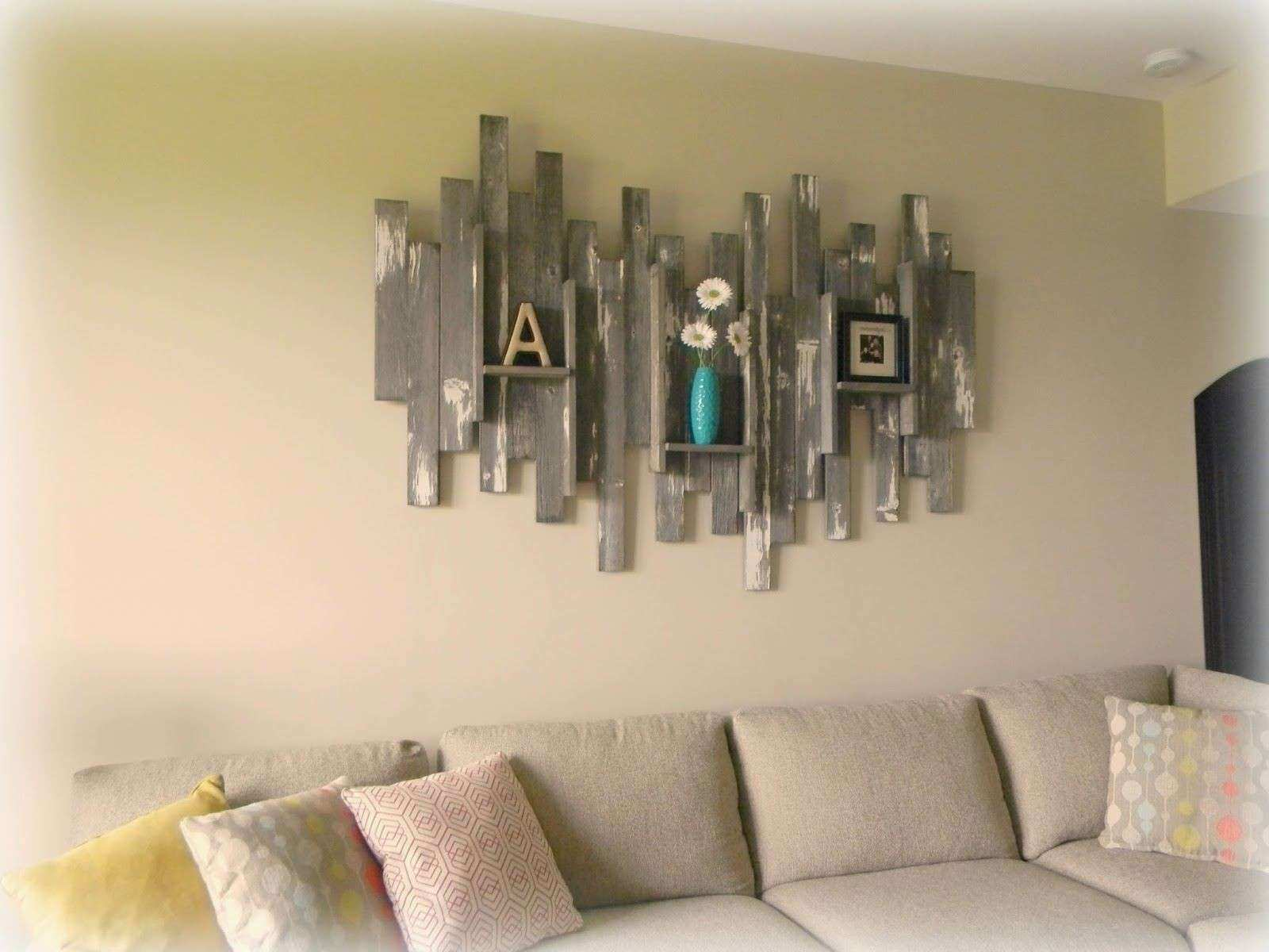 Barn Wood Wall Art & Basement Barn Wood Wall Decor 6