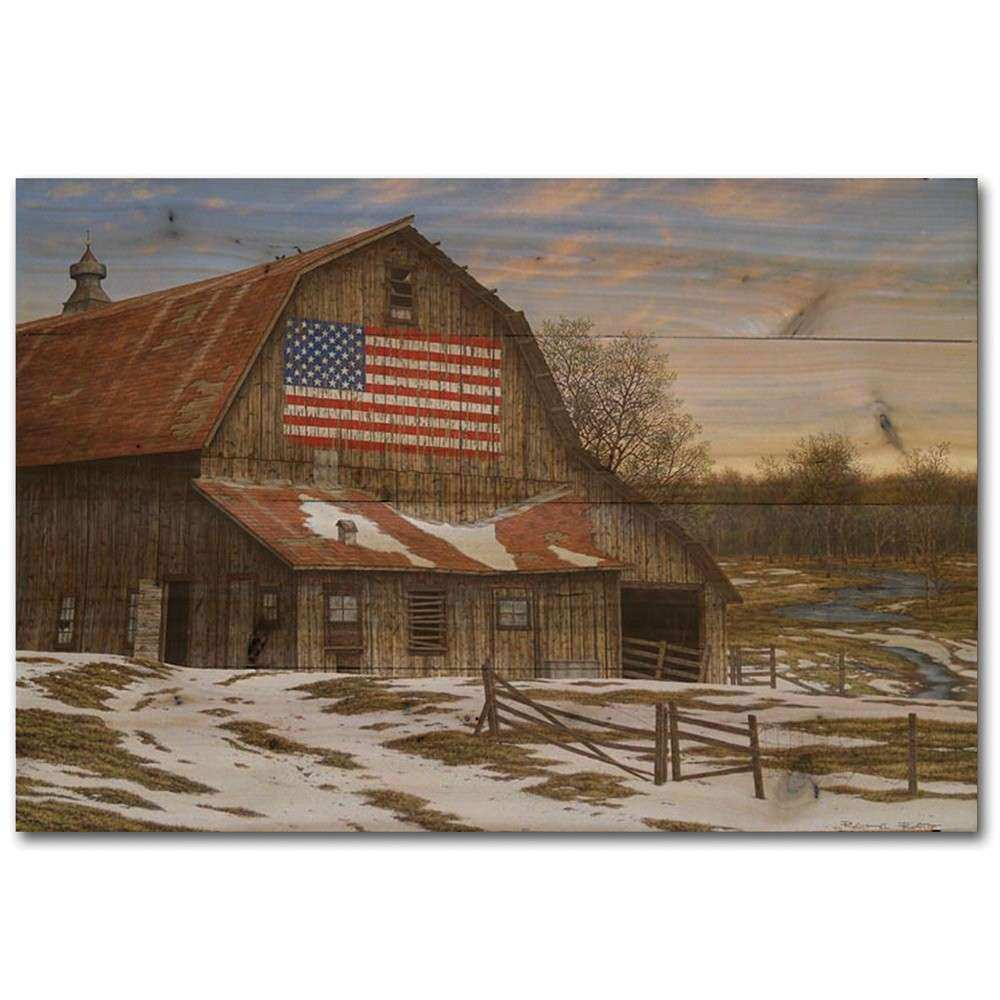 Enduring Legency Barn Wood Wall Art