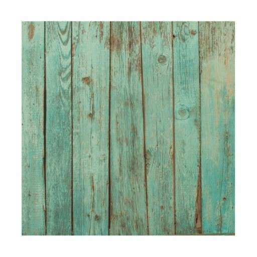 Turquoise Wood Teal Barn Wood Weathered Beach Wood Wall