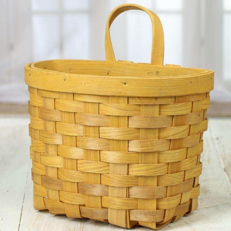 Basket Wall Decor Fresh Chipwood Wall Basket Baskets Buckets & Boxes ...