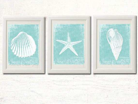 Beach Wall Decor Best Of Printable Beach Decor Bathroom Instant by ...