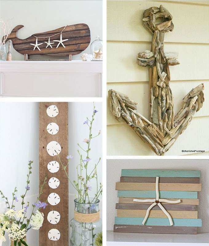 Beach Wood Wall Art Elegant 29 Beach Crafts Coastal Diy Wall Art & Beach Wood Wall Art Elegant 29 Beach Crafts Coastal Diy Wall Art ...
