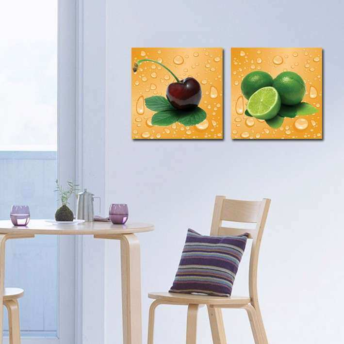 2 Panel Beautiful Modern Home Wall Decor Canvas Print