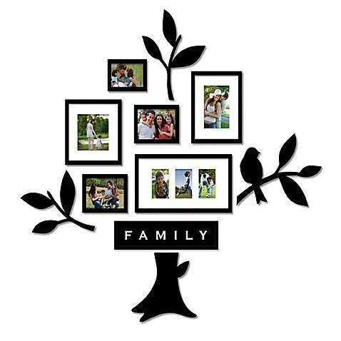Wallverbs™ Family Tree 11 Piece Frames and Plaques Set
