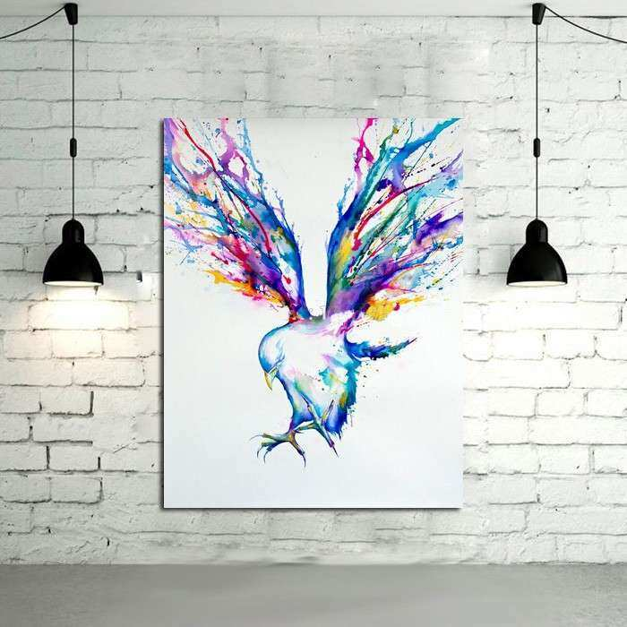 Aliexpress Buy Abstract Wall Art Handpainted Oil