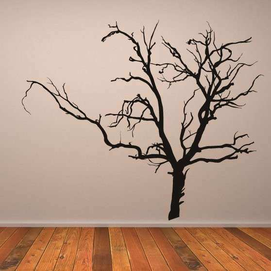 Wall Art Decor Best Designing Tree Art For Walls Scary