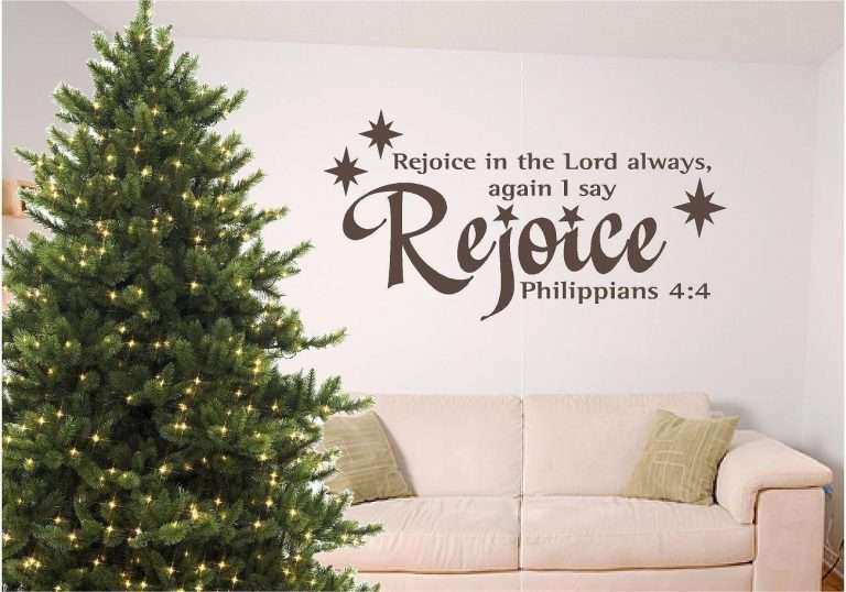 bible verse wall art best of christmas bible verse wall art rejoice by signguysandgal
