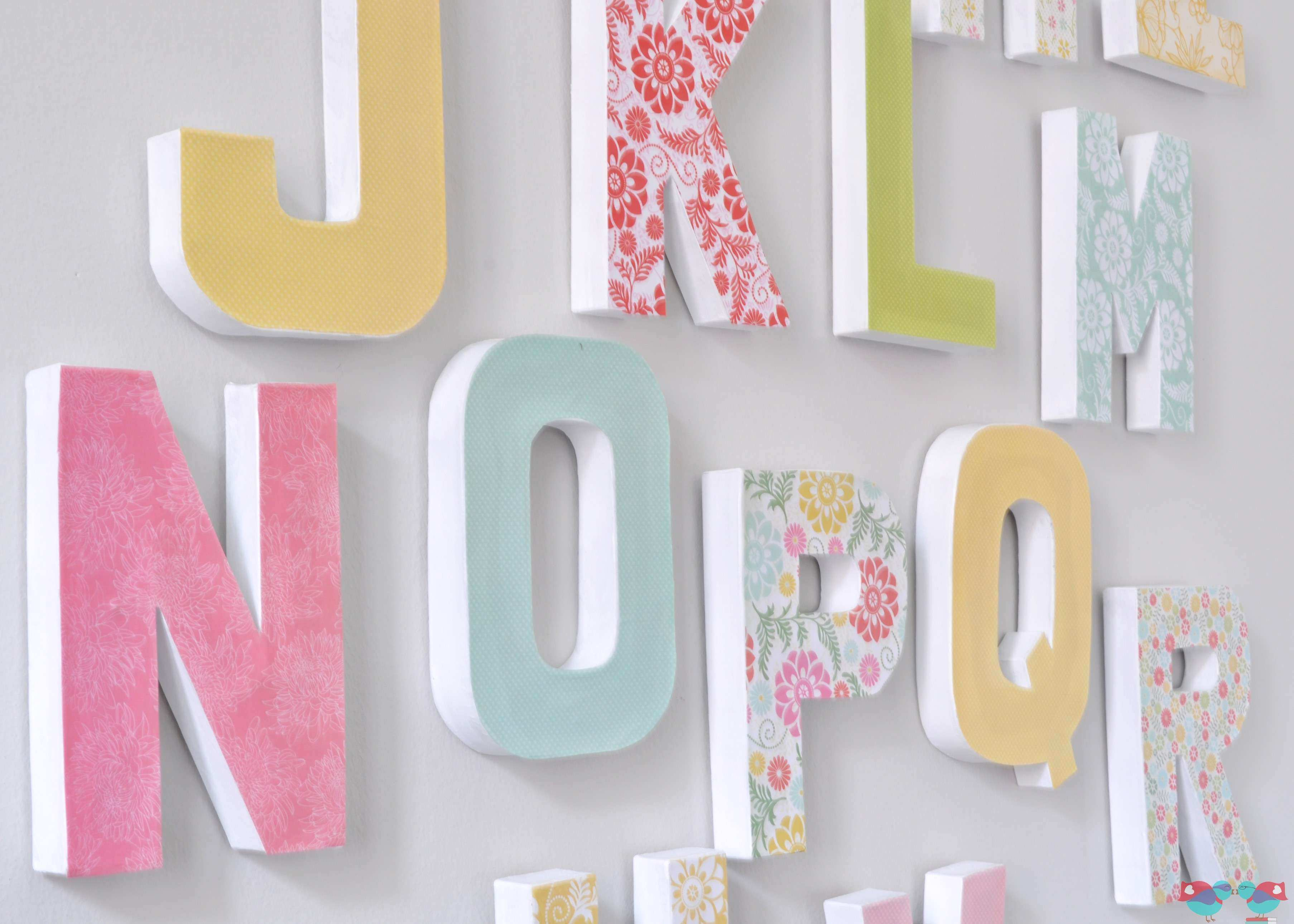 Letter A Wall Decor Juveique27