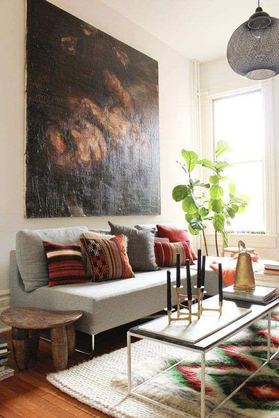 Big Wall Decor Living Room Best Of the Latest Décor Trend 31 Scale Wall Art Ideas