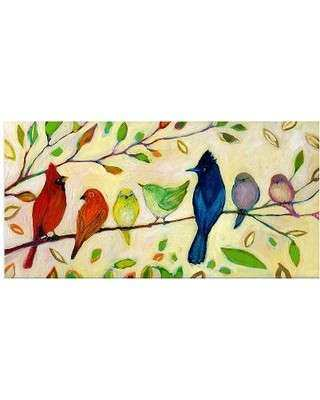 SPECTACULAR Deal on Birds on Wire Canvas Wall Art