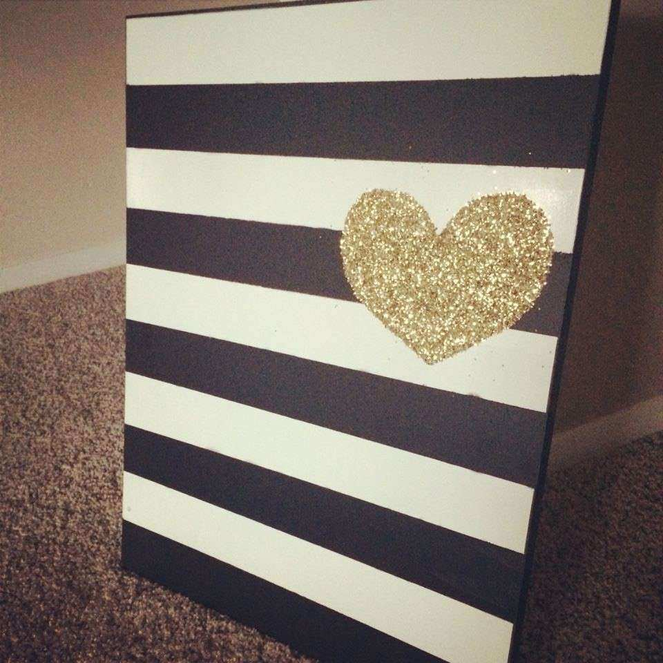 All That Glitters Is Gold DIY Wall Art for $0 Variety