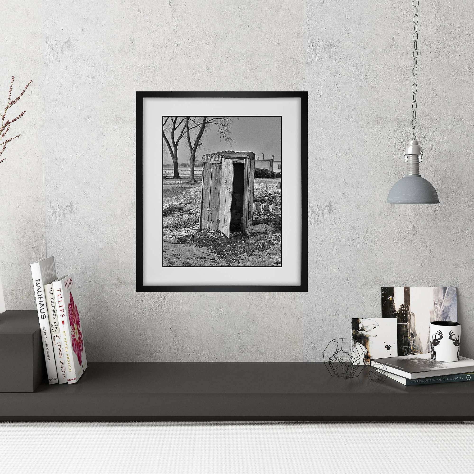Black and White Framed Wall Art Elegant Modern Farmhouse Wall Art ...