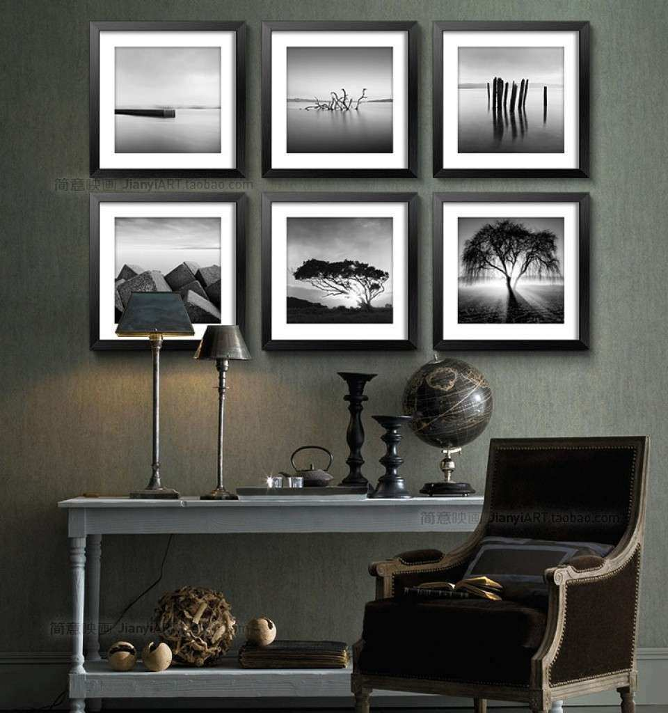 Picture Frames Black And White Framed For Sale