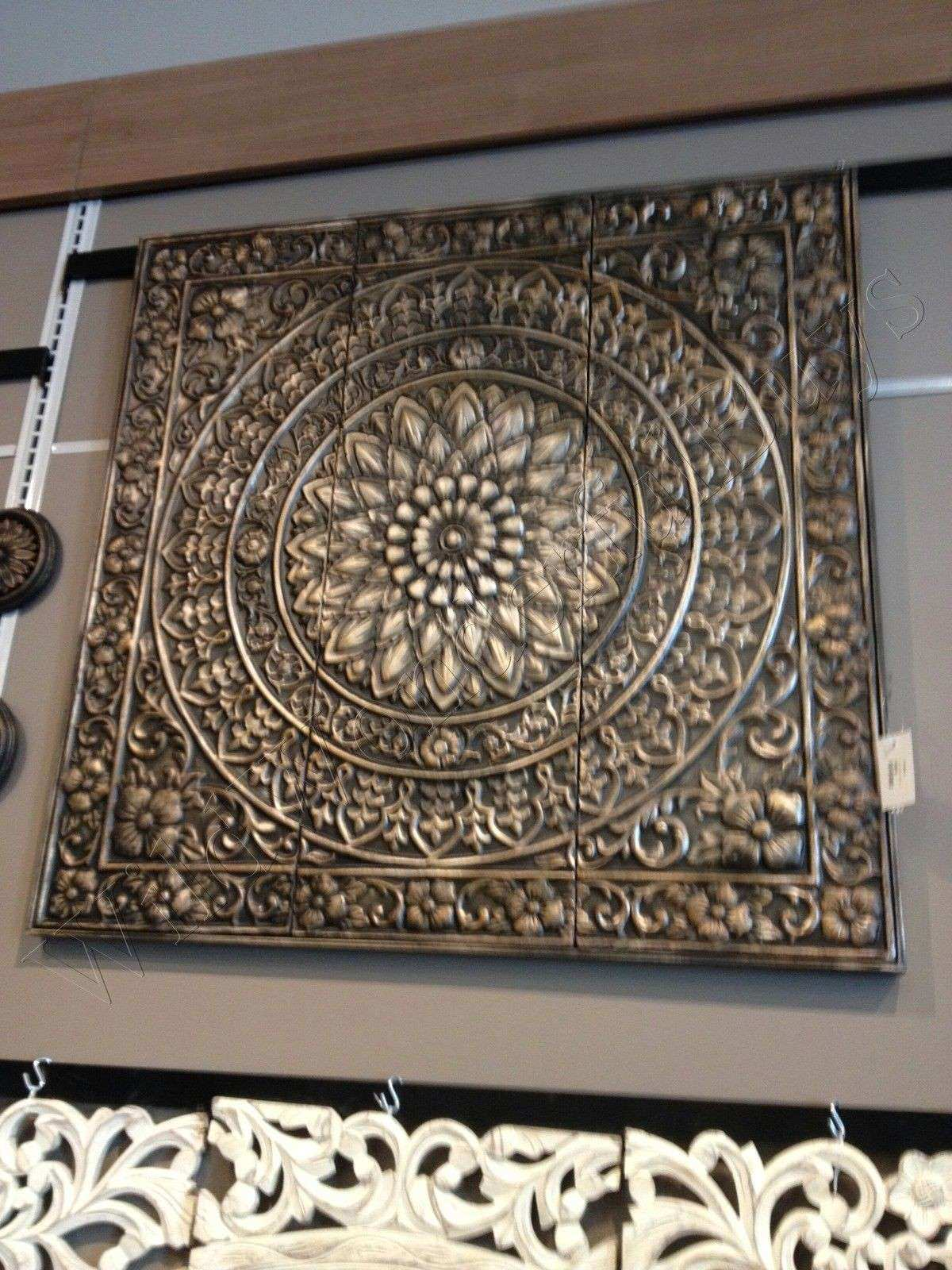 Black Metal Wall Art Decor Best Of Medallion Metal Wall Sculpture Brown  Black 36u0026quot; ...