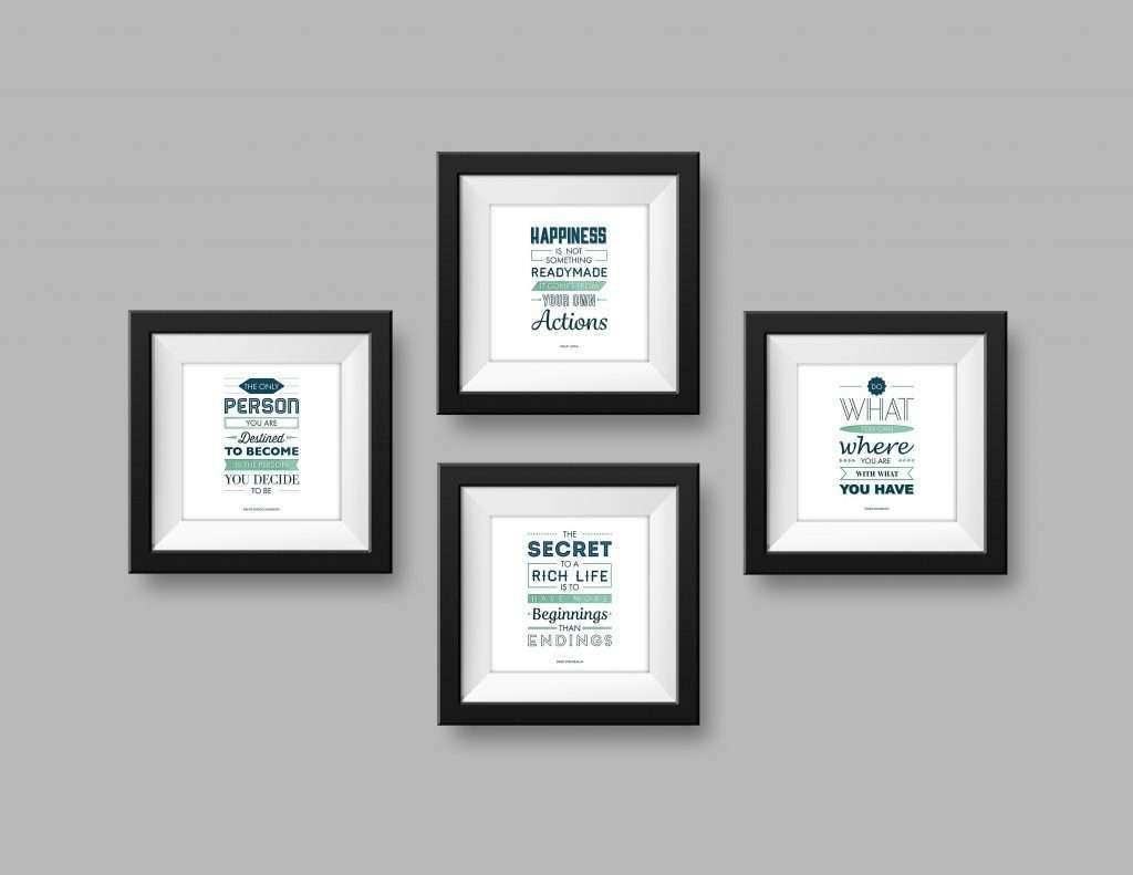 Black Wall Picture Frames Beautiful Interior Dining Room Wall ...