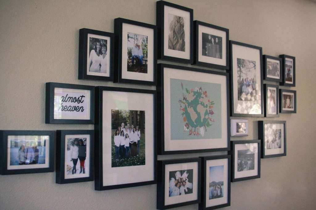Black Wall Picture Frames Unique Family Picture Frames 8x10 In ...