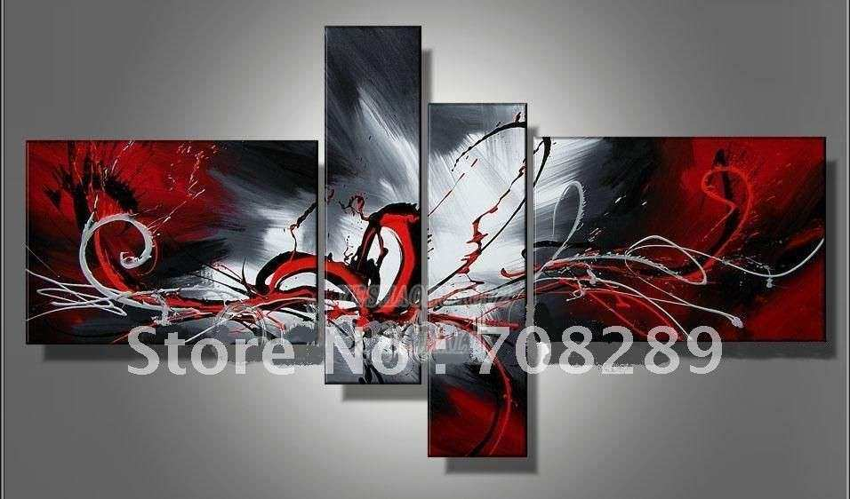 Black And White Abstract Oil Painting Gallery