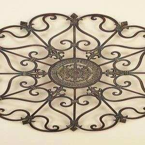 Black Wrought Iron Wall Decor Inspirational Tips & Ideas Wood Frame for Wrought Iron Wall Art with