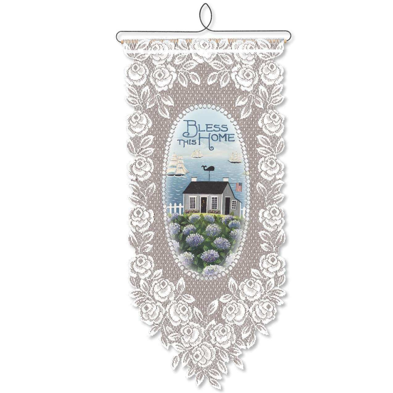 Heritage Lace Bless This Home Wall Decor