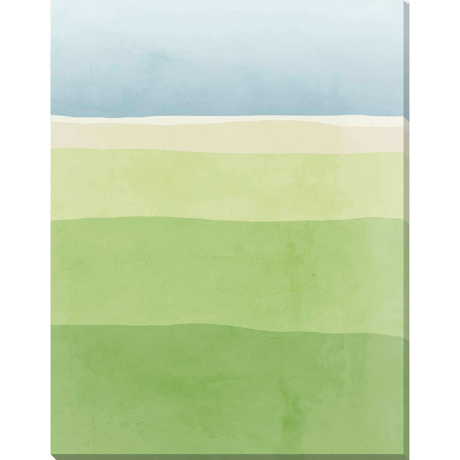 Loring Blue And Green Valley 14 X 18 In Wall Art 251