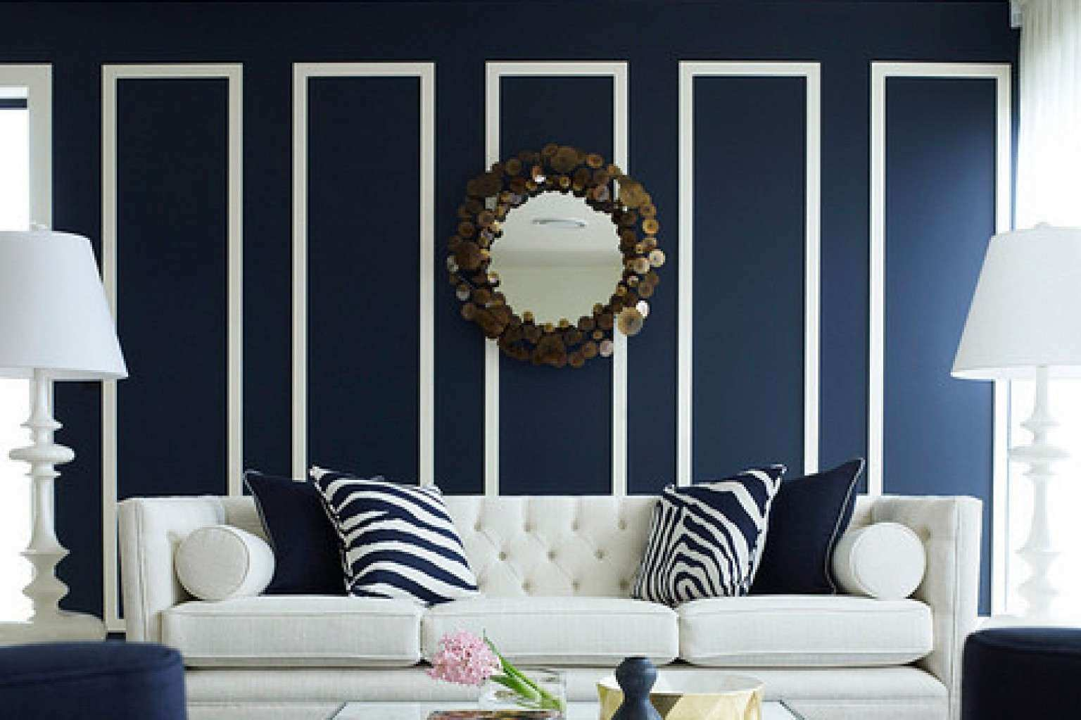 10 Navy Rooms To Inspire You To Pick Up The Paintbrush