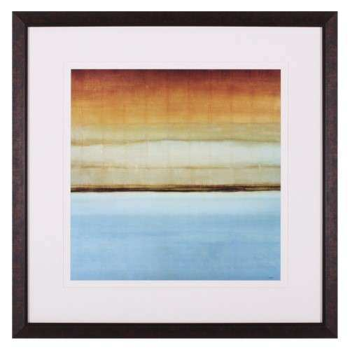 Art Effects Blue Foam II Framed Wall Art