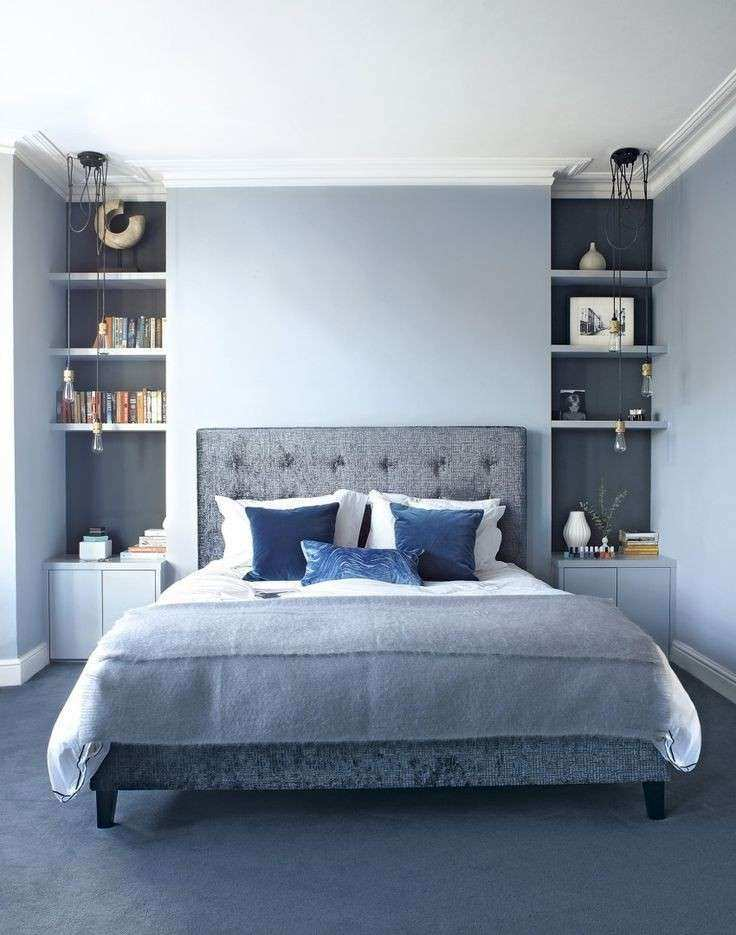 25 best ideas about Blue bedrooms on Pinterest