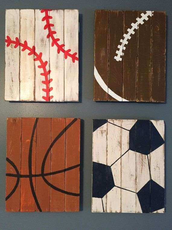 25 best ideas about Sports Decor on Pinterest