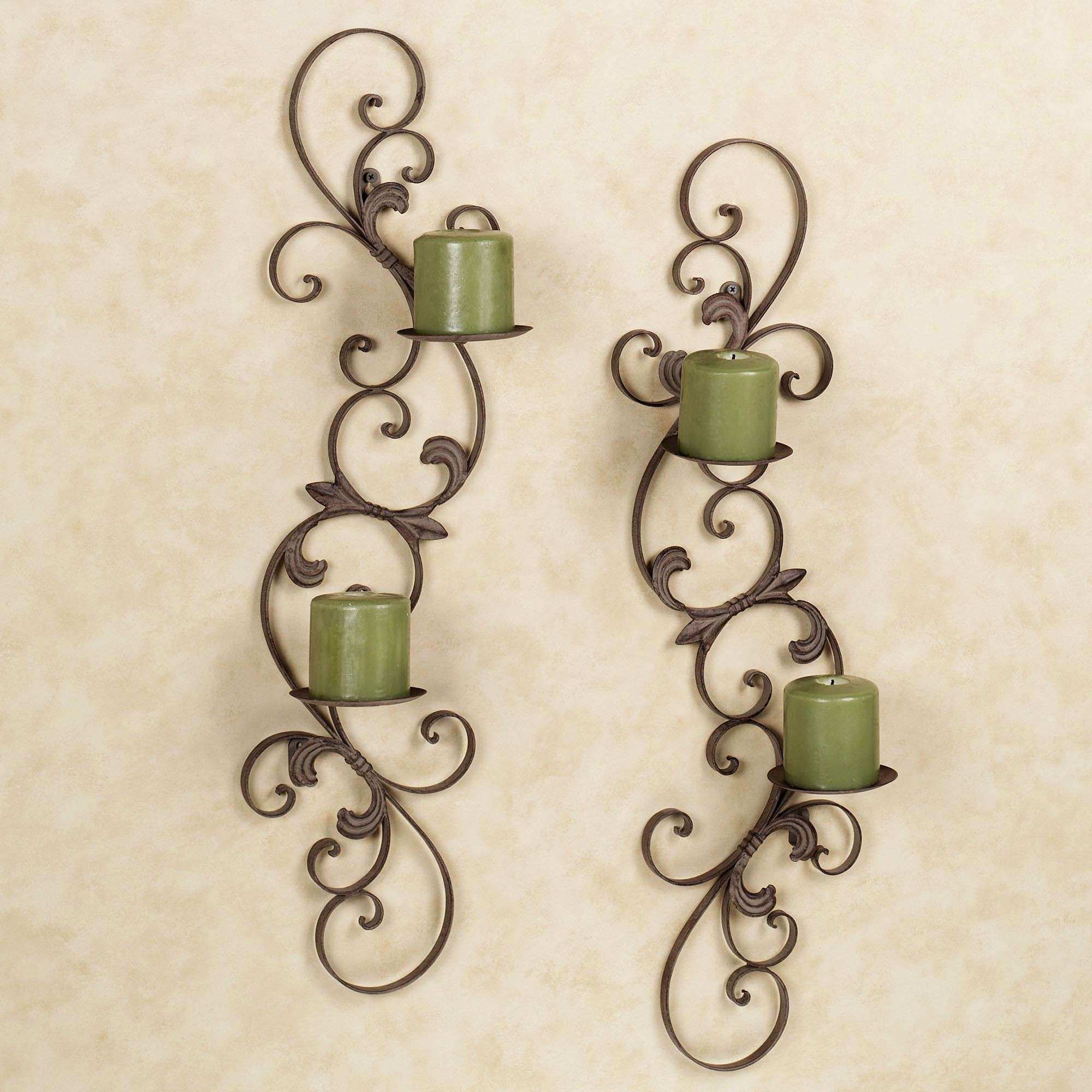Brass Wall Decor Awesome Jennison Metal Wall Sconce Set