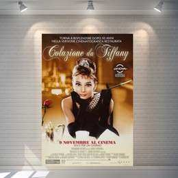 Breakfast at Tiffany's Wall Art Awesome Discount Wall Decoration for Modern Cafe Bar