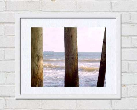 Virginia Beach Pier Coastal Home Wall Art