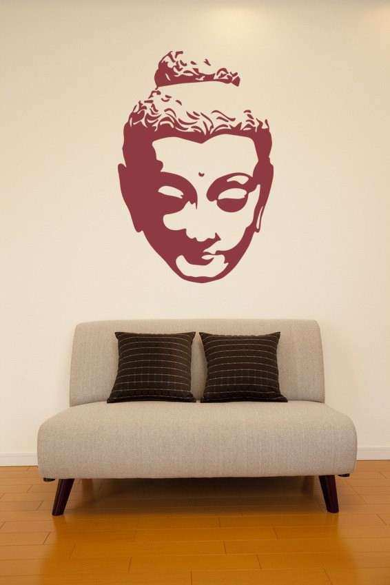 Items similar to Wall Decal Buddha Silhouette India Asian