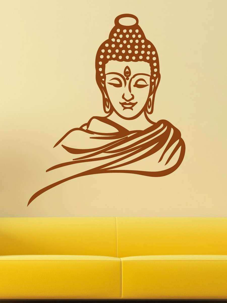 Buddha Wall Decor Unique Gautam Buddha Wall Decal Home Decor by ...