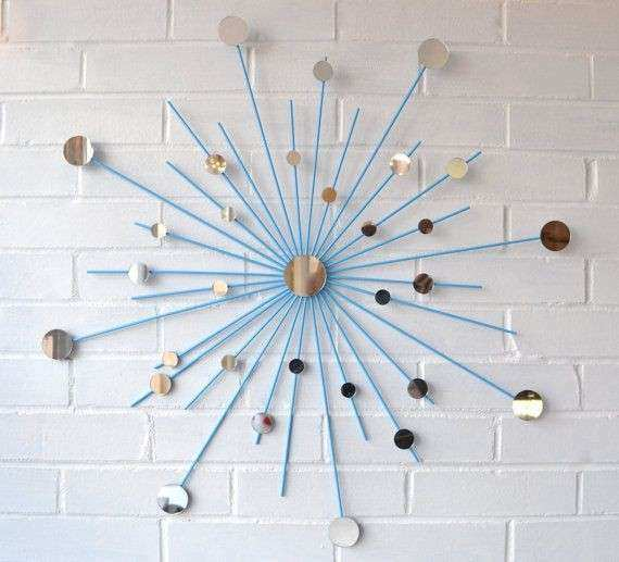 Starburst wall decor Home Special Touches
