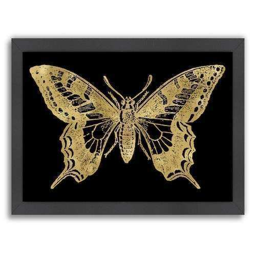 Butterfly Framed Wall Art Best Of Americanflat butterfly 2 Framed Wall Art