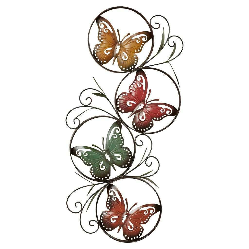 Butterfly Wall Art Elegant August Grove Ila Metal butterfly Wall Décor & Reviews