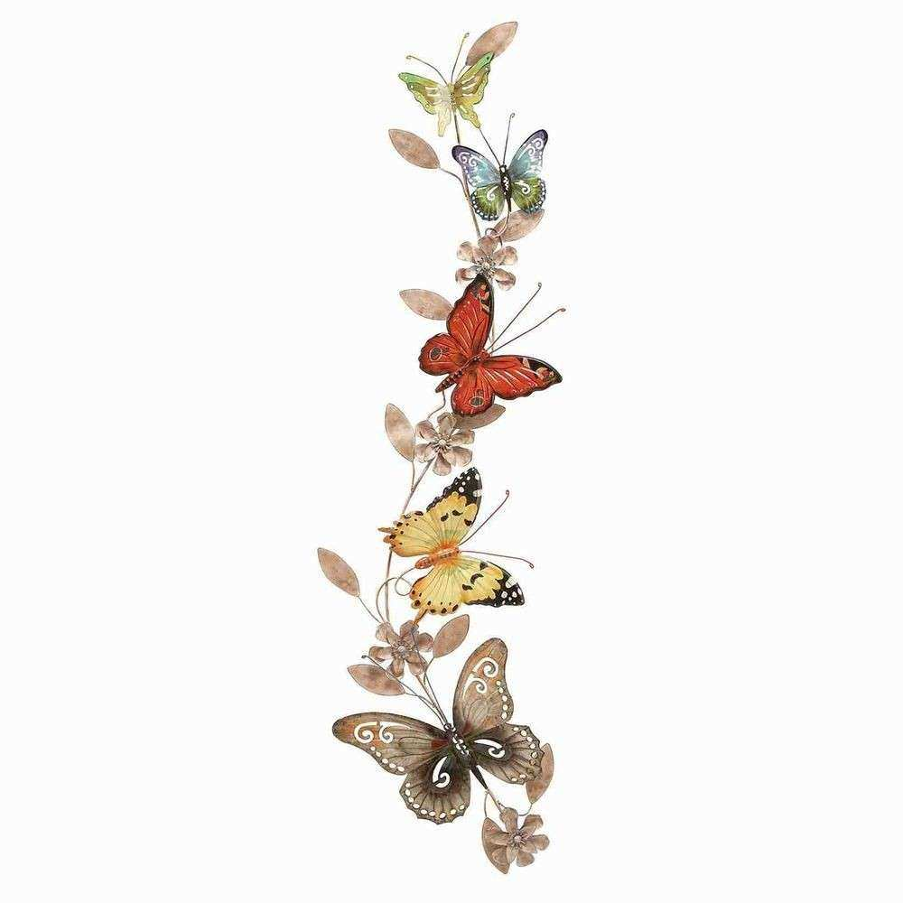 Butterfly Wall Art Lovely Woodland Imports Wall Metal butterfly Decor