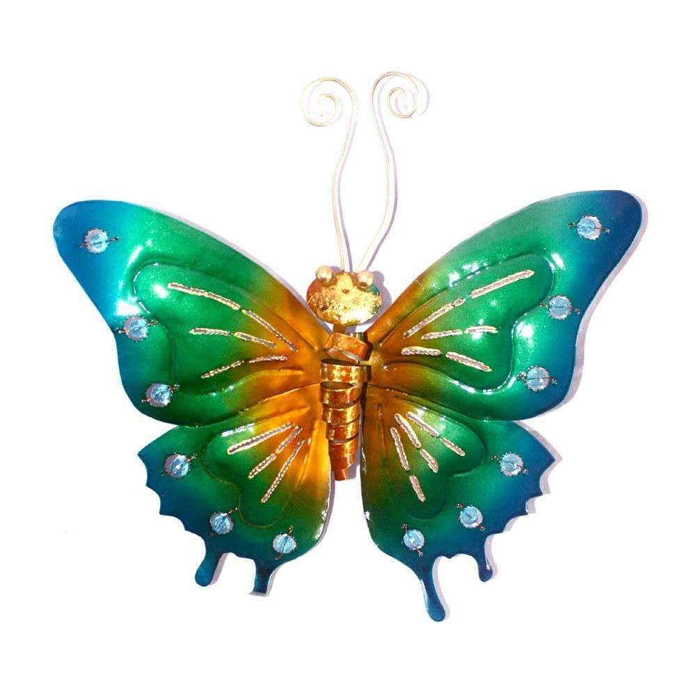 Butterfly Wall Art New Metal butterfly Wall Art Decor