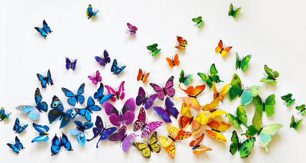Butterfly Wall Decor Beautiful Beautiful 3d Butterfly Wall Decor  Globallybuying