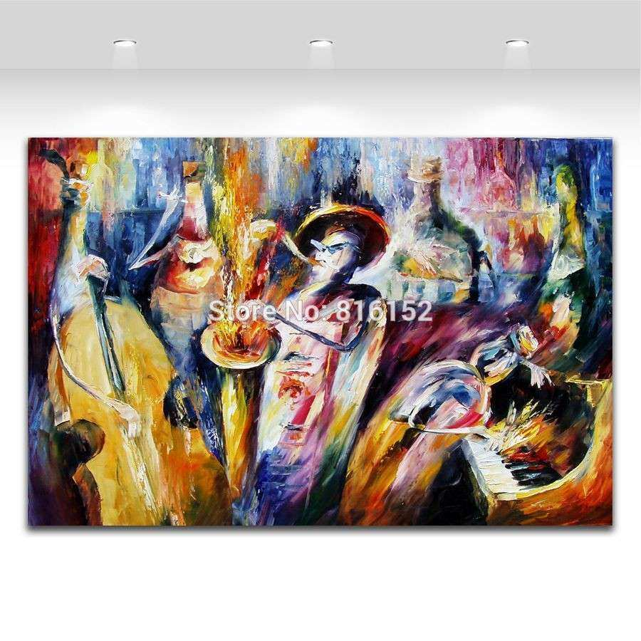 "Jazz Wall Art canvas wall art jazz music 21 5"" x 32 5"