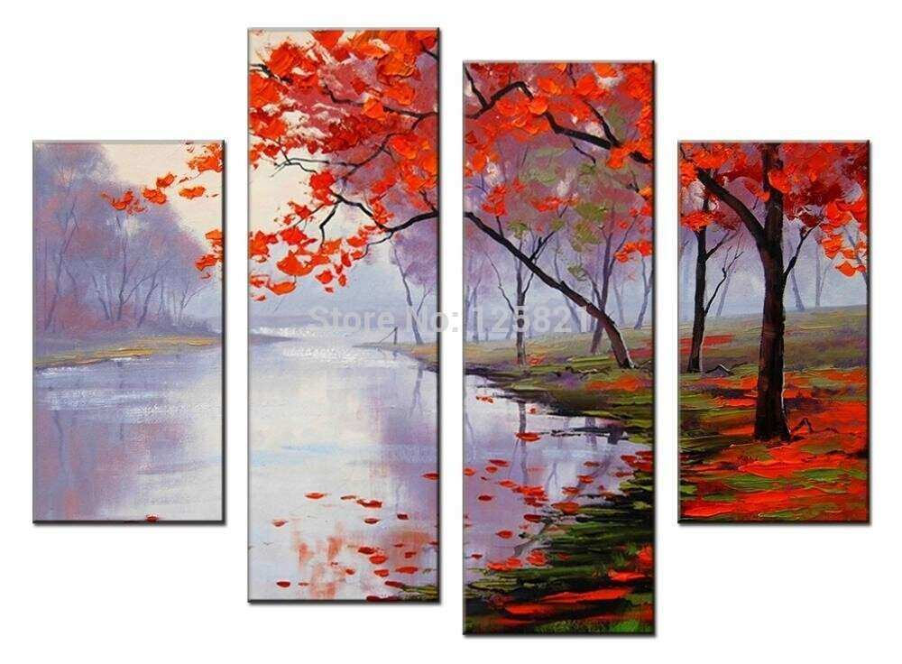Wall Art Designs perfect picture 4 panel canvas wall art