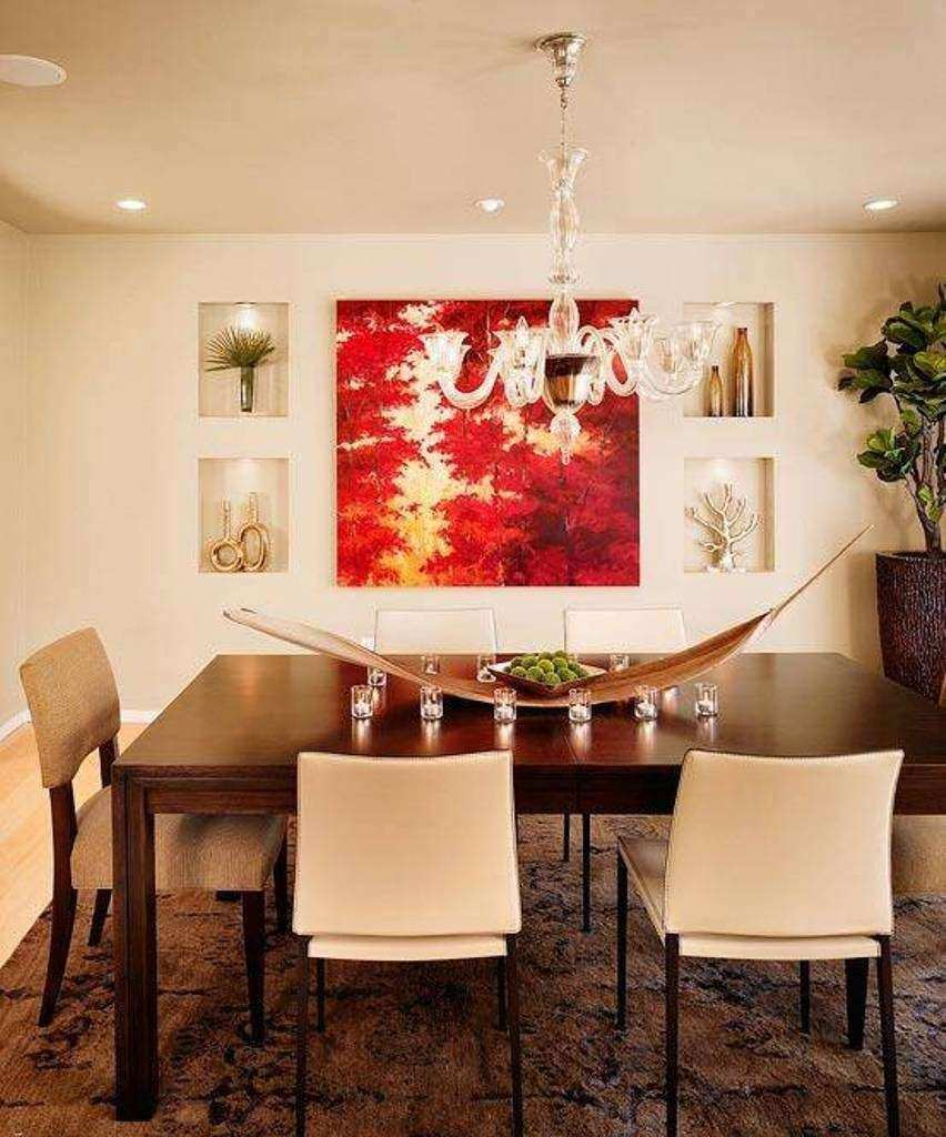 Wall Art Design Ideas Autumn Decorations Dining Room
