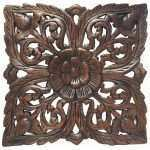 Fresh Carved Wood Wall Art India