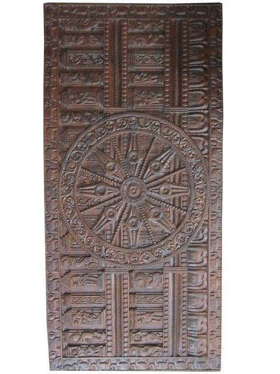 1000 images about Indian Carved Headboard Wall Panel on